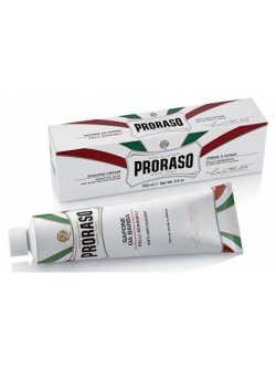 Крем для гоління Proraso shave cream tube sensitiv, 400411, 150 мл