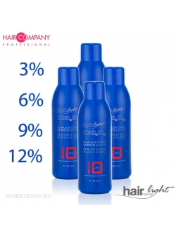 Окислююча емульсія  1л HAIR LIGHT HAIR COMPANY